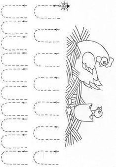 Pracovné listy: Grafomotorika - Album používateľky mery333 - Foto 3 Kindergarten Games, Preschool Writing, Preschool Learning Activities, Preschool Activities, Kids Math Worksheets, Tracing Worksheets, Pre Writing, Kids Writing, Arabic Alphabet For Kids