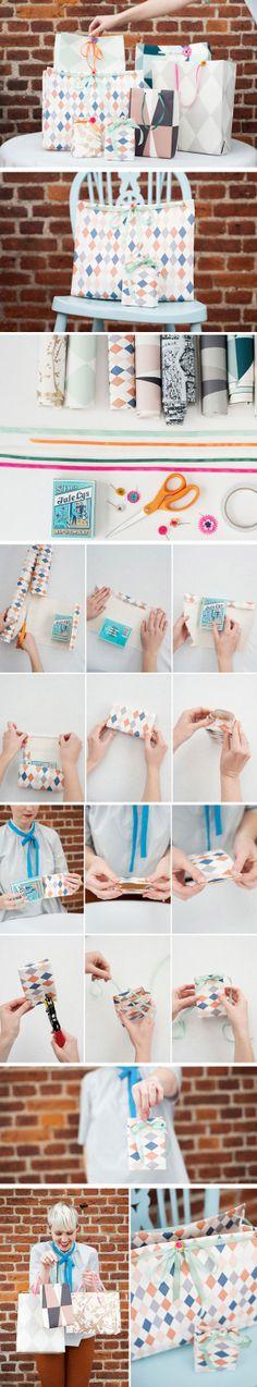 DIY cute gift bags