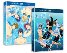 This bundle contains Free! Season 1 Iwatobi Swim Club Blu-ray/DVD and Free! Season 2 Eternal Summer + OVA Blu-ray/DVD!  Free! Iwatobi Swim Club Season 1 Blu-ray/DVD  Contains episodes 1-12.  After a run-in with former teammate Rin ends with bitter feelings and hurtful words, Haruka and his friends become determined to re-form the Iwatobi Swim Club. There's just one problem-they're missing a much-needed fourth member! With their eyes set on the athletic Rei, they've got to do what it takes to…