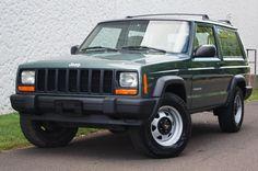 My new 2000 Jeep Cherokee XJ 4.0L 4X4 SE #4x4 #offroad #Grime #dubstep