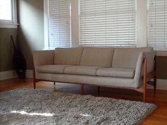 Danish Modern Mid Century Sofa Eames Wegner Finn Juhl Adrian Pearsall   eBay