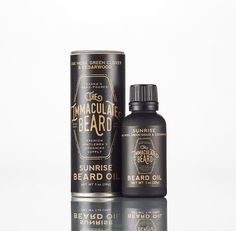 Beard need a little nourishing? Grab this beard oil to add some moisture! Packaged in a black matte glass bottle with a euro dropper inside a cardboard tube. The Immaculate Beard is a line of handmade men's grooming supplies. Available in two scents: Dark Argan Oil For Beard, Natural Beard Oil, Beard Oil Ingredients, Beard Wash, Pre Shave, Shaving Oil, Oranges And Lemons, Fractionated Coconut Oil