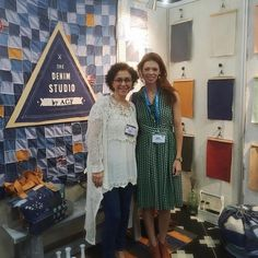 Quilt Market is only two weeks away and we're looking forward to catching up with old friends! Will you be there? #TBT #htgoestoquiltmarket #hawthornethreads #TheDenimStudiobyAGF by hawthornethreads