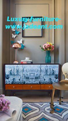 Custom Made Furniture, Retro Furniture, Dining Room Furniture, Luxury Furniture, Wood Furniture, Furniture Design, Interior Design Tips, Interior Inspiration, Luxury Homes Dream Houses