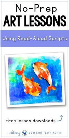 Read about easy ways to integrate art into your literacy writing block! It's a fun, low prep way to engage students in both subject areas (free lessons with teacher scripts included!)