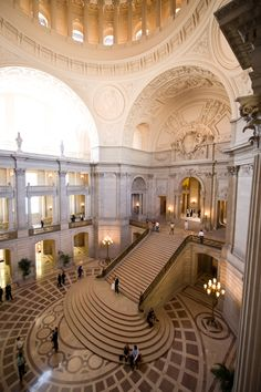 Laura and Matt tied the knot at San Francisco City Hall in front of friends and family. Take a glimpse into their special day with Loic Nicolas Photography.