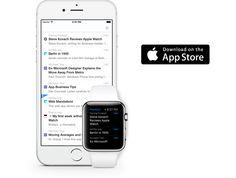 Feedbin Notifier for iPhone, iPad and Apple Watch Apple Watch Apps, Business Tips, Ipad, Iphone