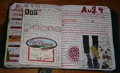 journaling tips ... crazyquilter | love the way it looks though.
