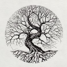 70 Super Ideas for tree tattoo circle design - 70 Super Ideas for tree tattoo circle design 70 Super Ideas for tree tattoo circle design Yggdrasil Tattoo, Celtic Tattoos, Viking Tattoos, Tattoo Life, Tree Of Life Tattoos, Tree Tattoo Arm, Nature Tattoos, Body Art Tattoos, Compass Tattoo