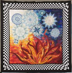 Made by Claudia Pfeil  Quilted by Claudia Pfeil  Started in 2008, Finished in 2009