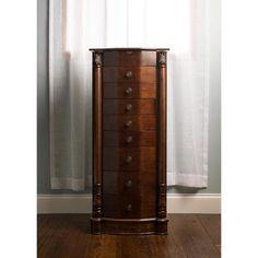amazoncom louis xvi antique jewelry armoire 8 drawers bedroom storage cabinet elegant amazoncom antique jewelry armoire