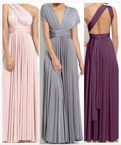 A beautiful full length convertible dress.Perfect for bridesmaid dress.You  can also wear it as maxi dress evening gown formal dress.Wrap it for multi  style. 313285e458e1