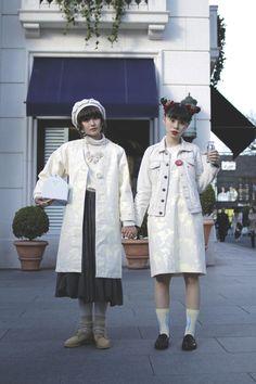 [Street Style] こまつゆき & るうこ | Harajuku (Tokyo)