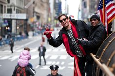 Jimmy in the Thanksgiving Day Parade