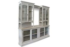 1920s French Kitchen Cabinet