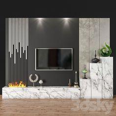 Living Room Partition Design, Living Room Tv Unit Designs, Bedroom Wall Designs, Tv Wall Design, Door Design, Tv Unit Furniture Design, Tv Unit Interior Design, Modern Tv Room, Modern Tv Wall Units