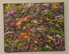 """Art-Painting-""""Feeding Frenzy""""-Original By Gerald Hershberger-Rare! Contemporary, Modern, Framed Art, Oil On Canvas, High Fashion, Original Paintings, Goodies, Community, The Originals"""