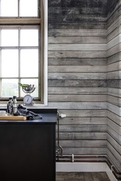 Wall mural R14291 Worn Wood