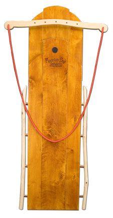 Mountain Boy Sledworks - Handmade Wooden Sleds & Wagons - Silverton, Colorado - Ultimate Flyers