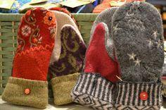 wool mittens - Google Search