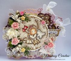 me and my craft corner : Love..Love..Love at I Am Roses Challenge Blog