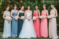 Dove, Slate, French Blue, Coral, Guava, Blush Silk Crinkle Chiffon