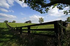 Scenic View in Fayette County, Kentucky