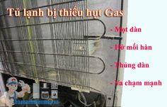 Tủ lạnh bị thiếu Gas do đâu - Bảo hành điện máy Hà Nội