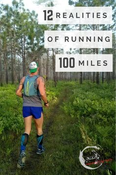 100 miles is a really, really long way to run. Here are 12 awesome (and awful) realities of running 100 miles. Running Humor, Running Motivation, Running Workouts, Running Training, Running Drills, Marathon Motivation, Funny Running, Ultra Marathon Training, Marathon Running