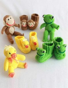 Picture of Bootie Buddies Crochet Pattern