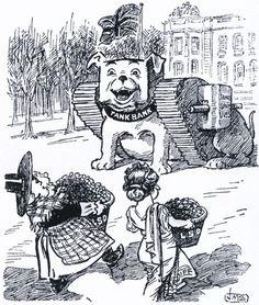 "WWI covered live on Twitter: ""Dec 11 1917 ""Pro Patria"" (Western Mail cartoon) LSD makes tanks! https://t.co/LNfNzkMoa1 https://t.co/HCepS5GL9t"""