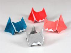 Cuteness alert: more kitten origami | How About Orange - 3-D kittens
