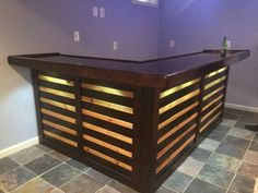a bar made out of refinished crates isn t this beautiful on inventive ideas to utilize reclaimed wood pallet projects all you must to know id=96680