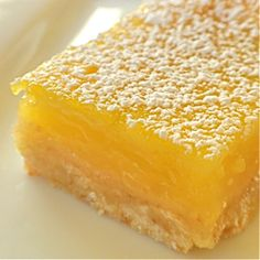 Lemon Squares Recipe served at Crystal Palace in Magic Kingdom at Disney World
