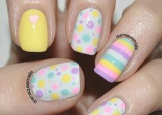 25 Pretty Easter Nail Art Ideas From Pinterest