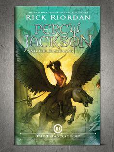 New Percy Jackson Titan's Curse Cover