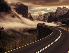 Tutorial Photoshop : Créer un effet de route brumeuse avec Photoshop