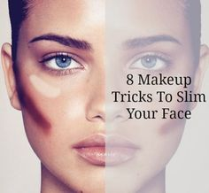 Makeup Tricks: How to slim your face with makeup—amazing!