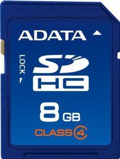 Card de memorie ADATA SDHC 8GB Secure Digital Card