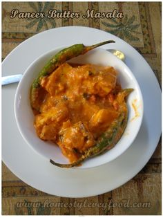 Paneer butter masala ~ Restaurant Style !