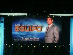 """DIP Angel Molina - """"Amor, Lealtad y Compromiso al Equipo"""" - Convención I..."""