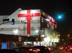 Shopping Lapa -  Iluminação externa de Natal  T74Brasil