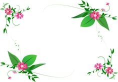 Free Frames and borders  png | flower-border-design-png-360.png