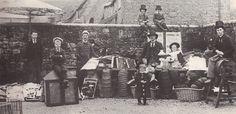 Hooper's rummage sale, Shaftesbury in 1898 (by Augustus James Bealing?)