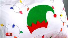 Christmas Lights, Holiday Fun, Christmas Crafts, Home And Family Tv, Christmas Fabric Crafts, Christmas Material, Diy Pillows, Country Christmas, Christmas Inspiration