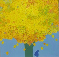 Oil on canvas  38 ×38cm