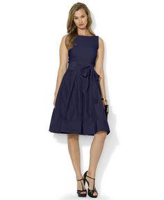105904e7715 lauren-ralph-lauren-blue-pleated-cocktail-dress-product- · Navy Cocktail  DressWomens Cocktail DressesPetite ...