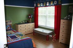 Sports+bedrooms+for+boys | Big Boy Sports Room , A Big Boy