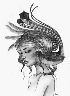 """""""Lyrebird"""" - Bessie Nunes"""