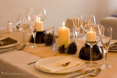 Fall Table Setting by The Celebration Girl